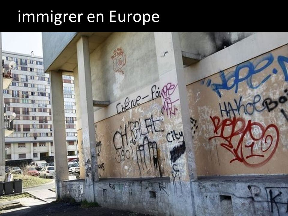 immigrer en Europe