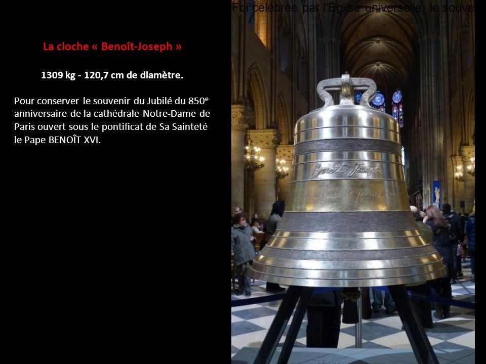 La cloche « Benoît-Joseph »