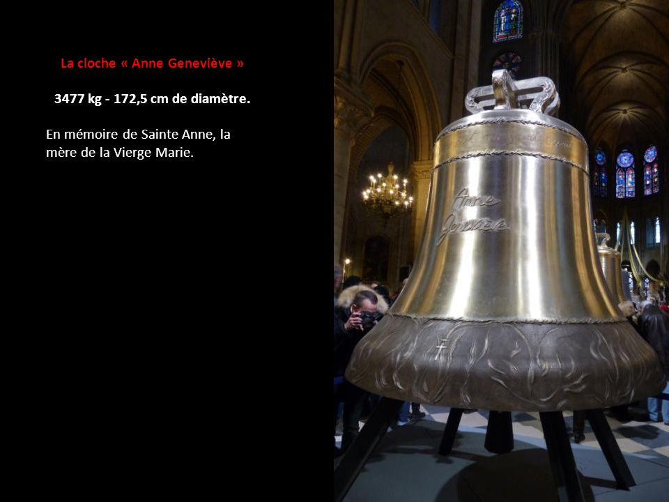 La cloche « Anne Geneviève »