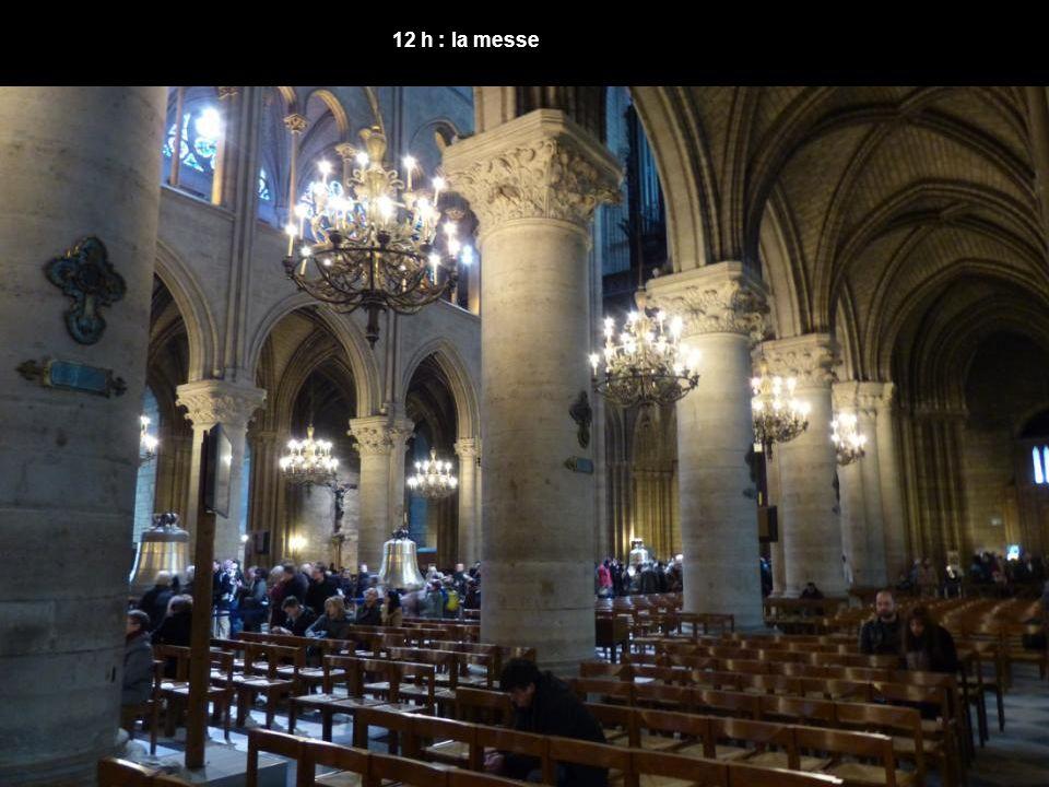 12 h : la messe