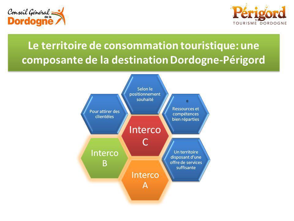 Le territoire de consommation touristique: une composante de la destination Dordogne-Périgord