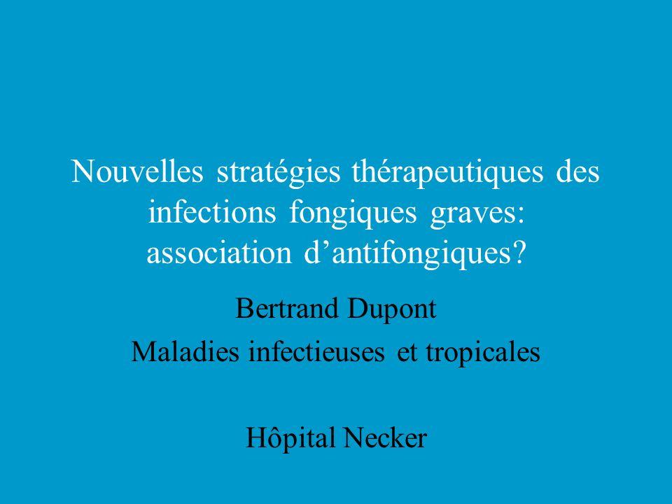 Bertrand Dupont Maladies infectieuses et tropicales Hôpital Necker