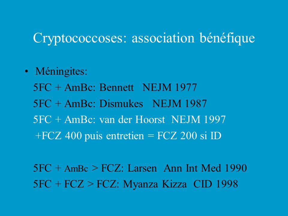 Cryptococcoses: association bénéfique