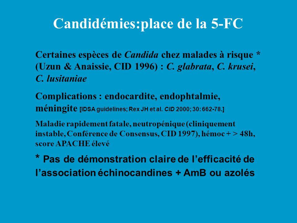 Candidémies:place de la 5-FC