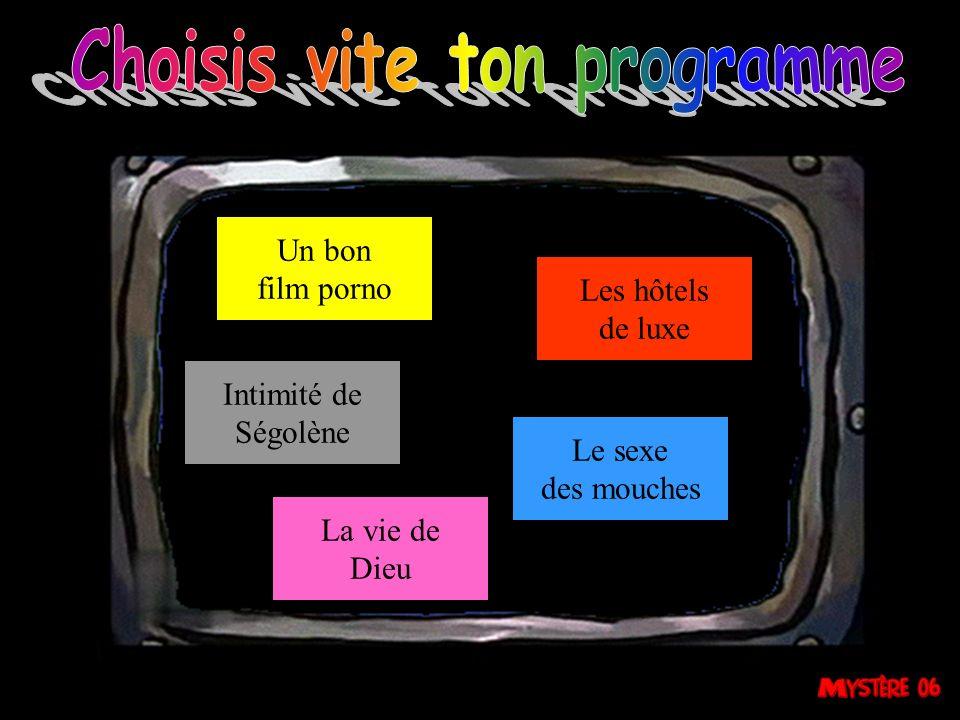 Choisis vite ton programme