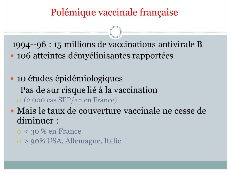 Polémique vaccinale française