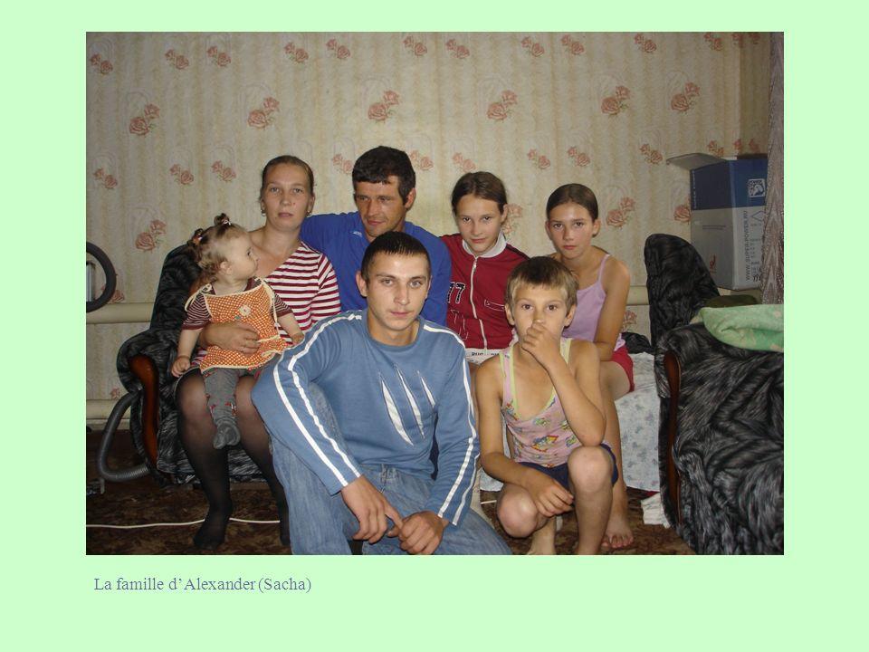 La famille d'Alexander (Sacha)
