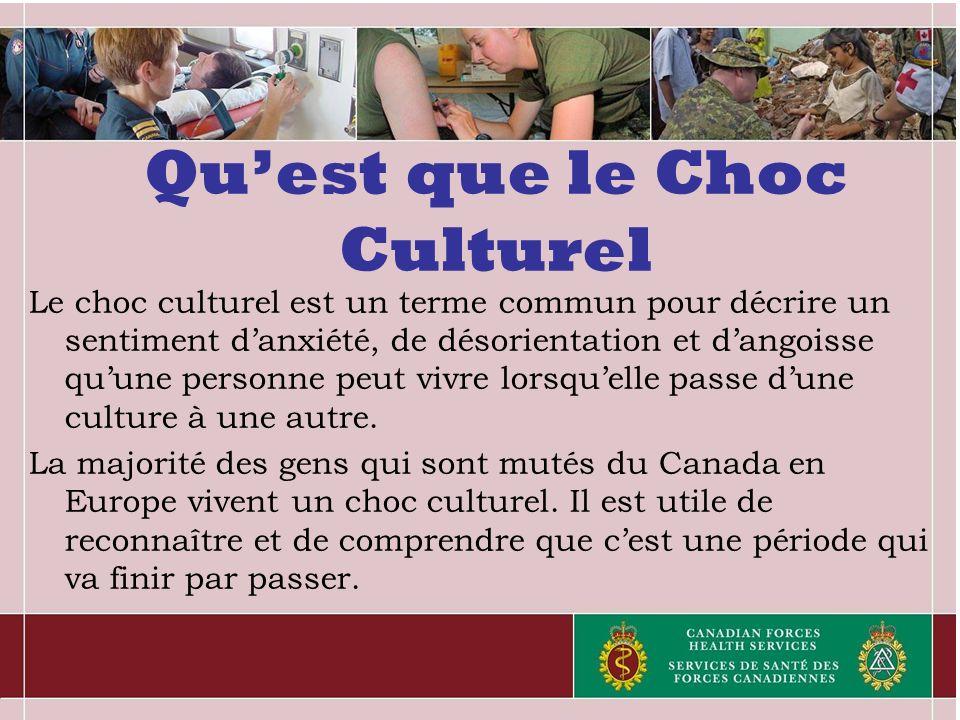Qu'est que le Choc Culturel