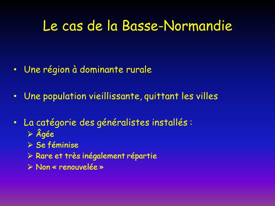 Le cas de la Basse-Normandie