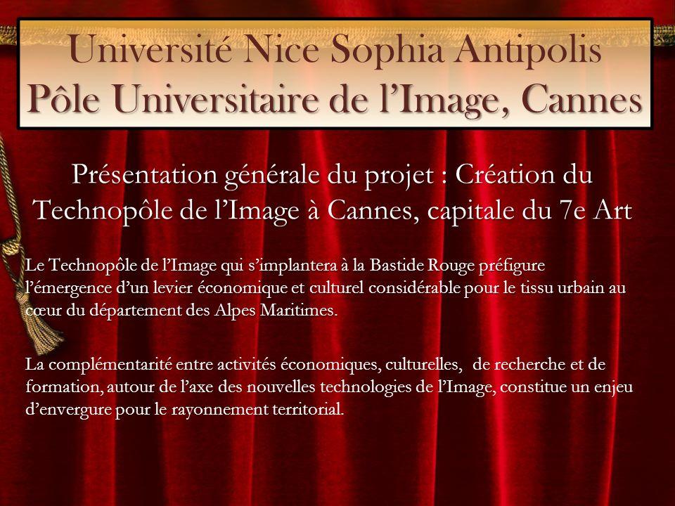 Université Nice Sophia Antipolis Pôle Universitaire de l'Image, Cannes