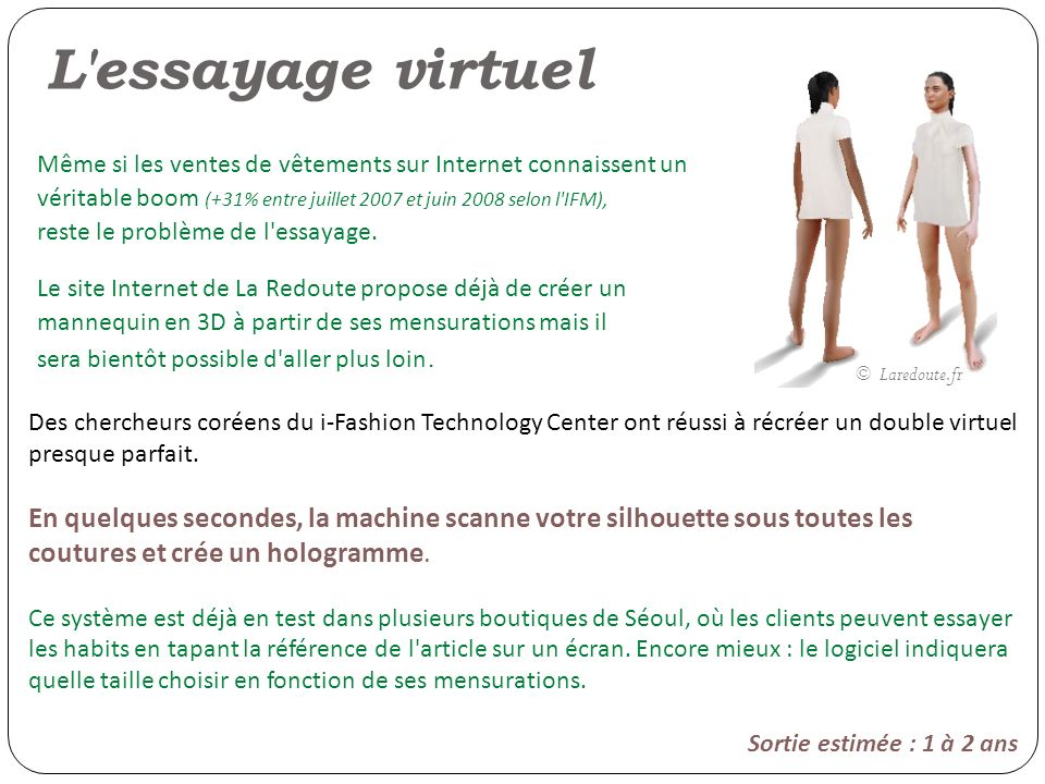 L essayage virtuel