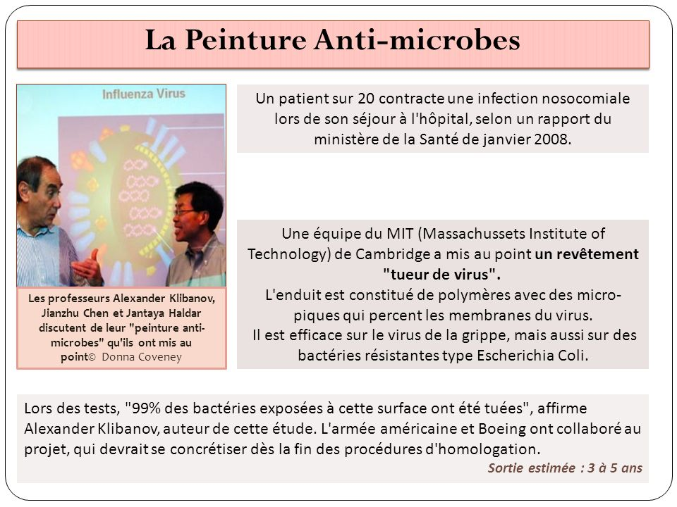 La Peinture Anti-microbes