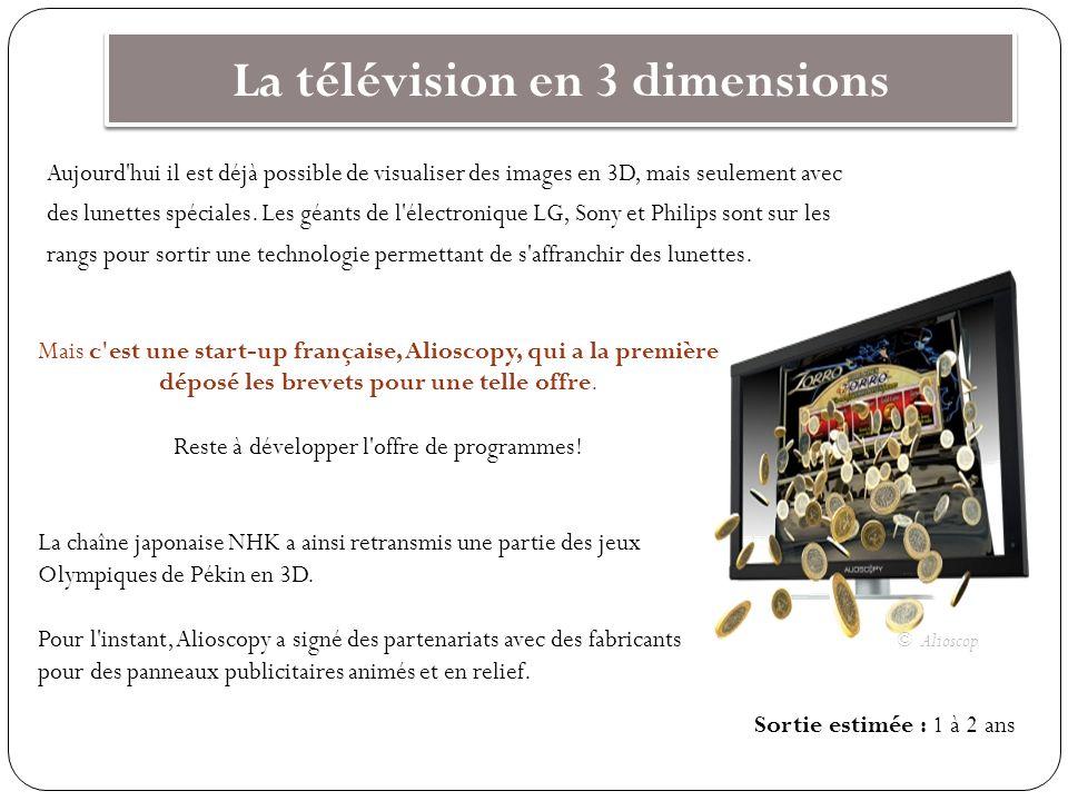 La télévision en 3 dimensions