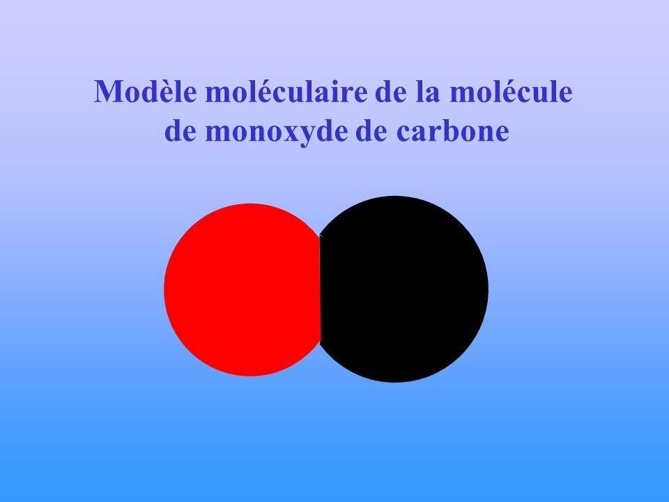 Modèle moléculaire de la molécule