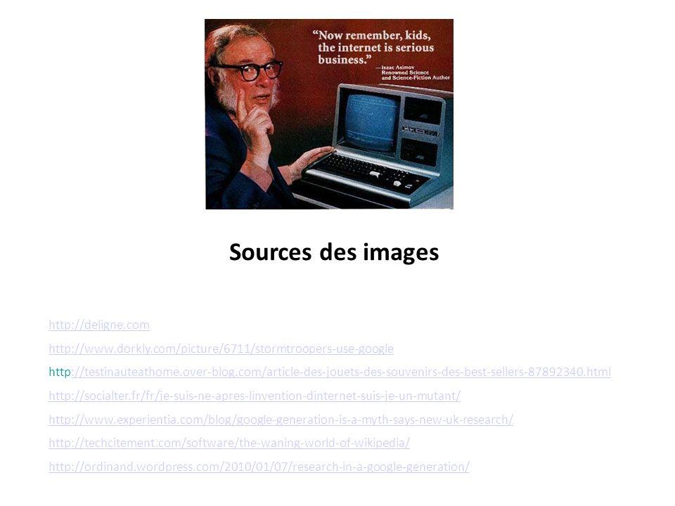 Sources des images http://deligne.com
