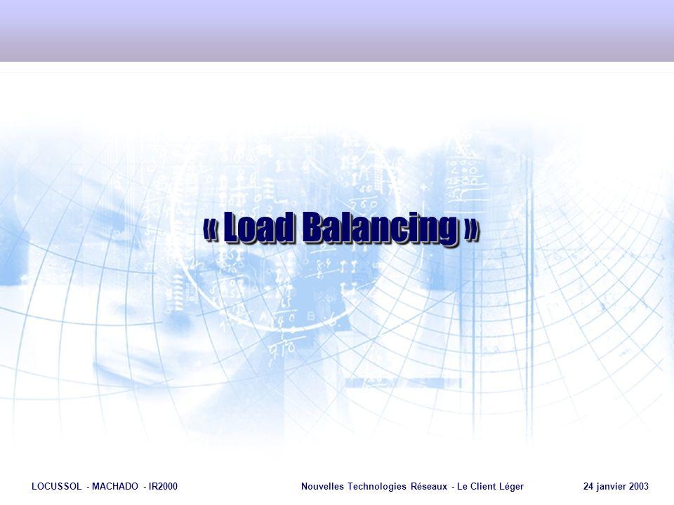 « Load Balancing »