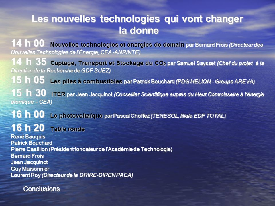 Les nouvelles technologies qui vont changer