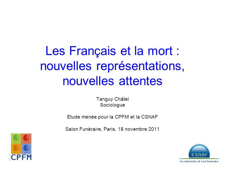 Les Français et la mort : nouvelles représentations, nouvelles attentes