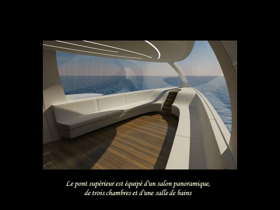 Le pont supérieur est équipé d un salon panoramique,