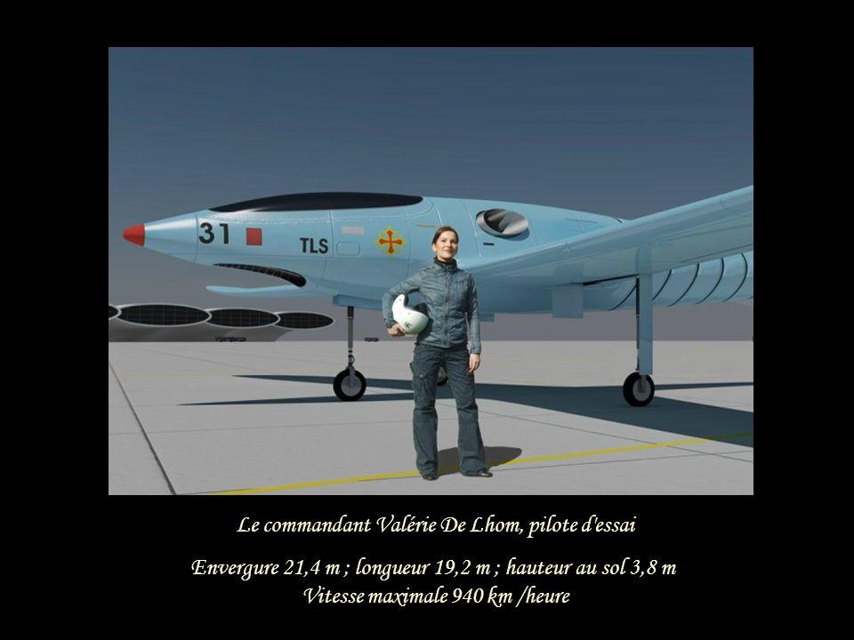 Le commandant Valérie De Lhom, pilote d essai
