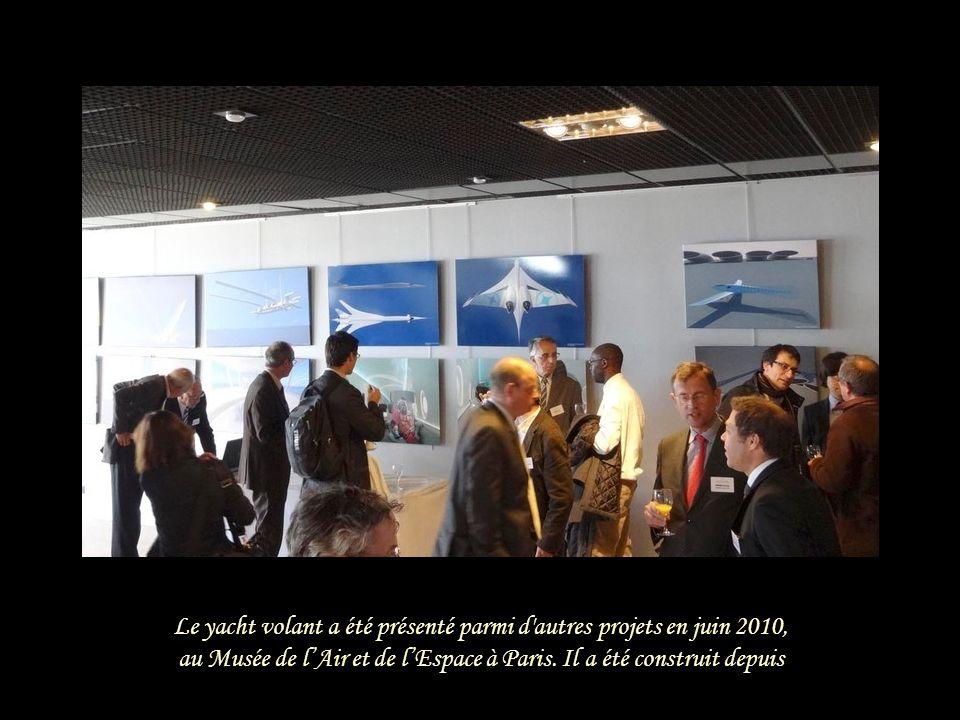 Le yacht volant a été présenté parmi d autres projets en juin 2010,