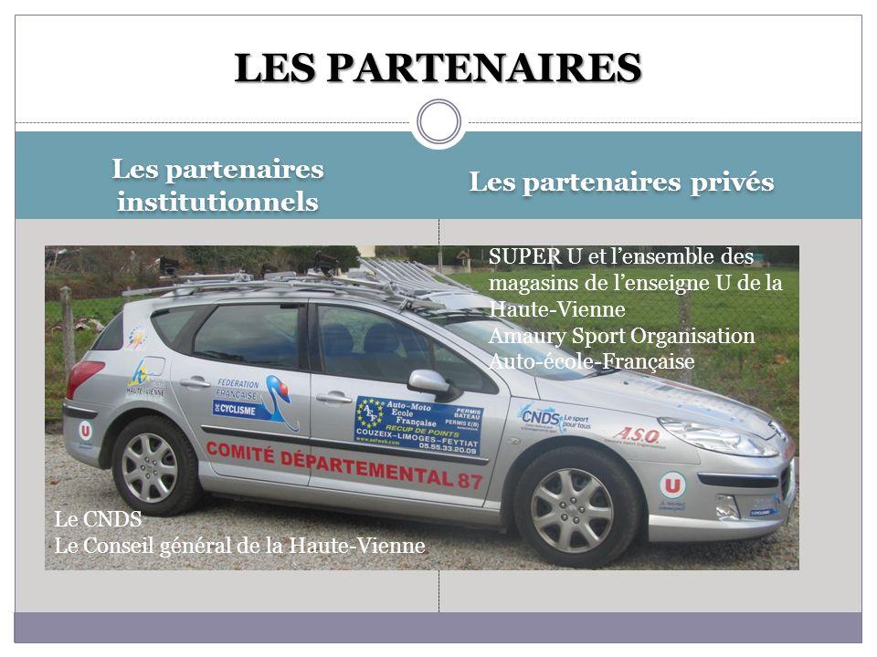Les partenaires institutionnels