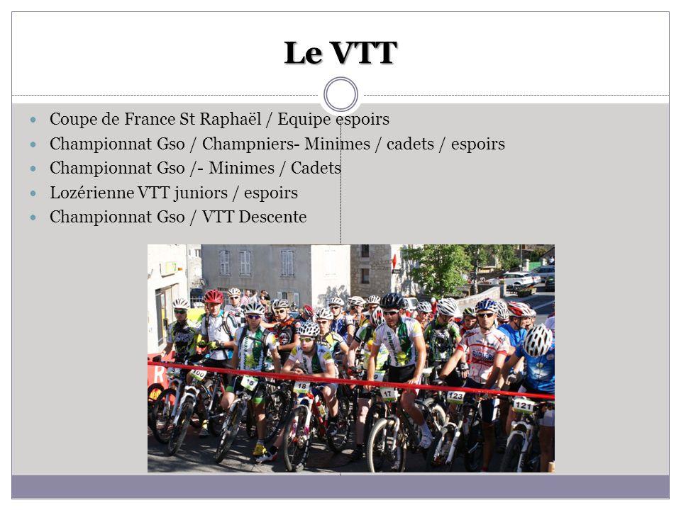 Le VTT Coupe de France St Raphaël / Equipe espoirs