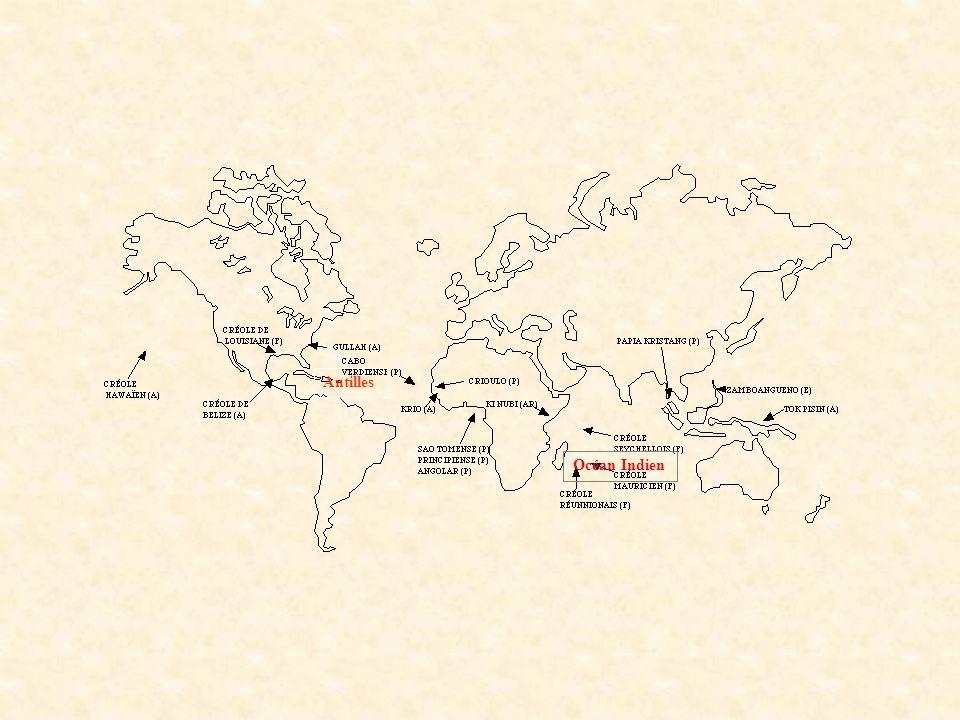 Antilles Océan Indien