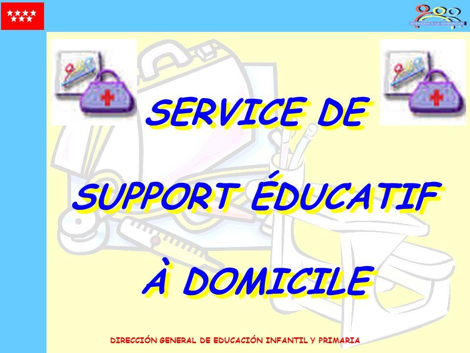 SERVICE DE SUPPORT ÉDUCATIF À DOMICILE