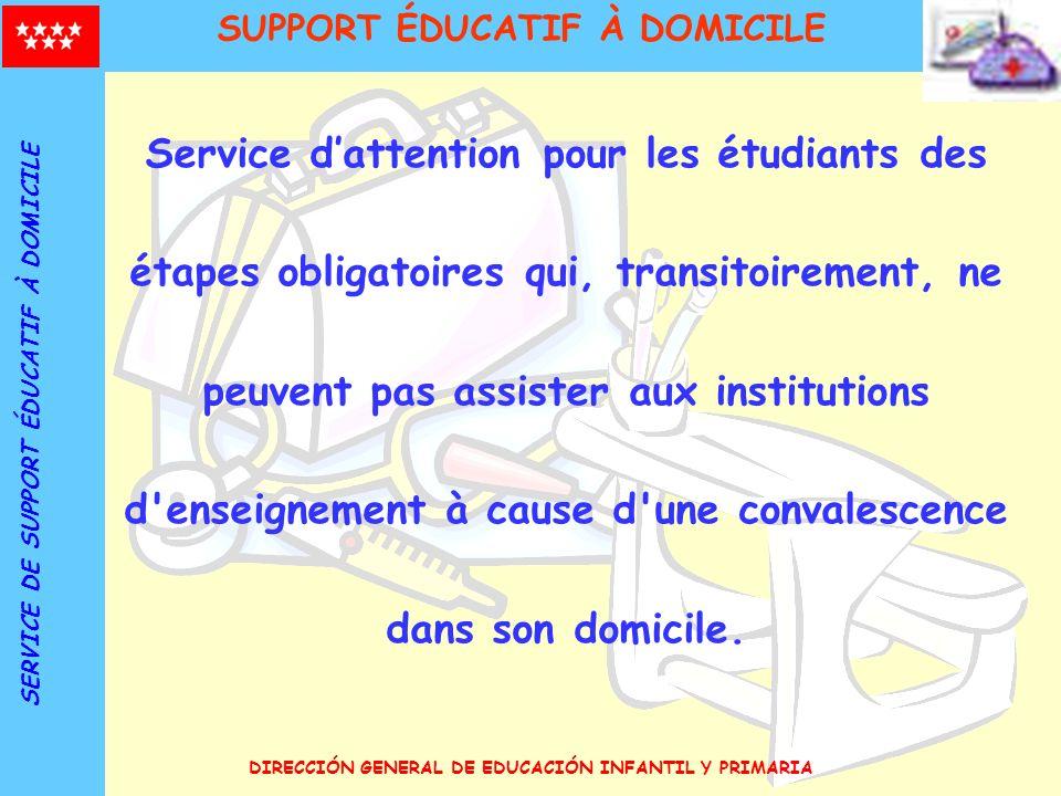 SUPPORT ÉDUCATIF À DOMICILE