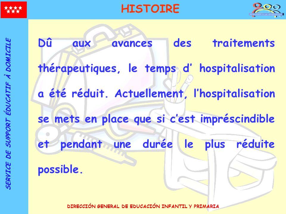 HISTOIRE SERVICE DE SUPPORT ÉDUCATIF À DOMICILE.
