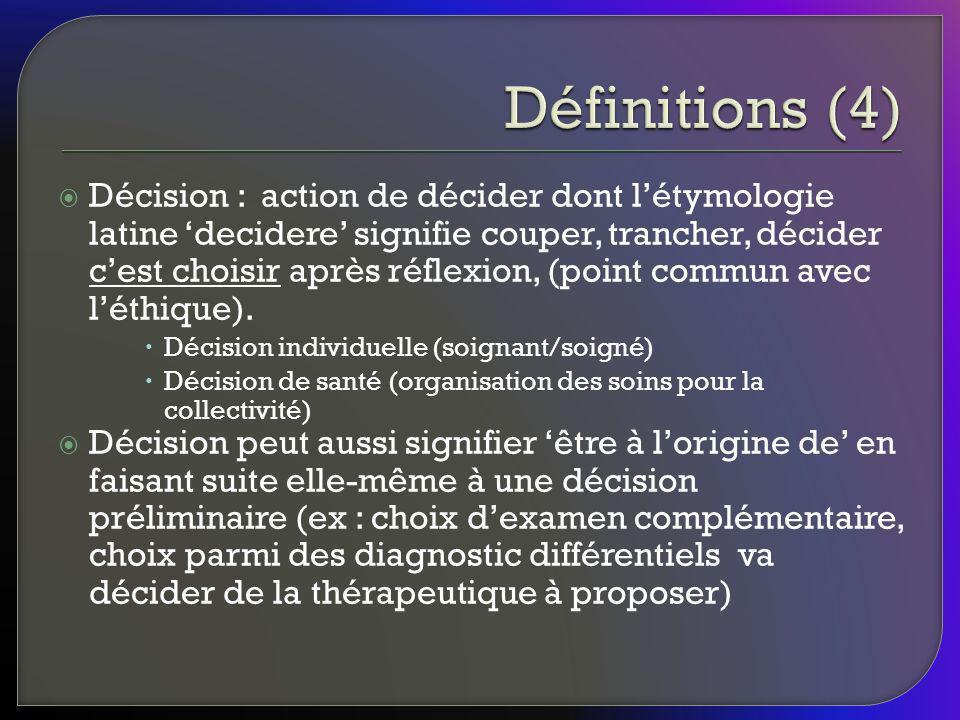 Définitions (4)