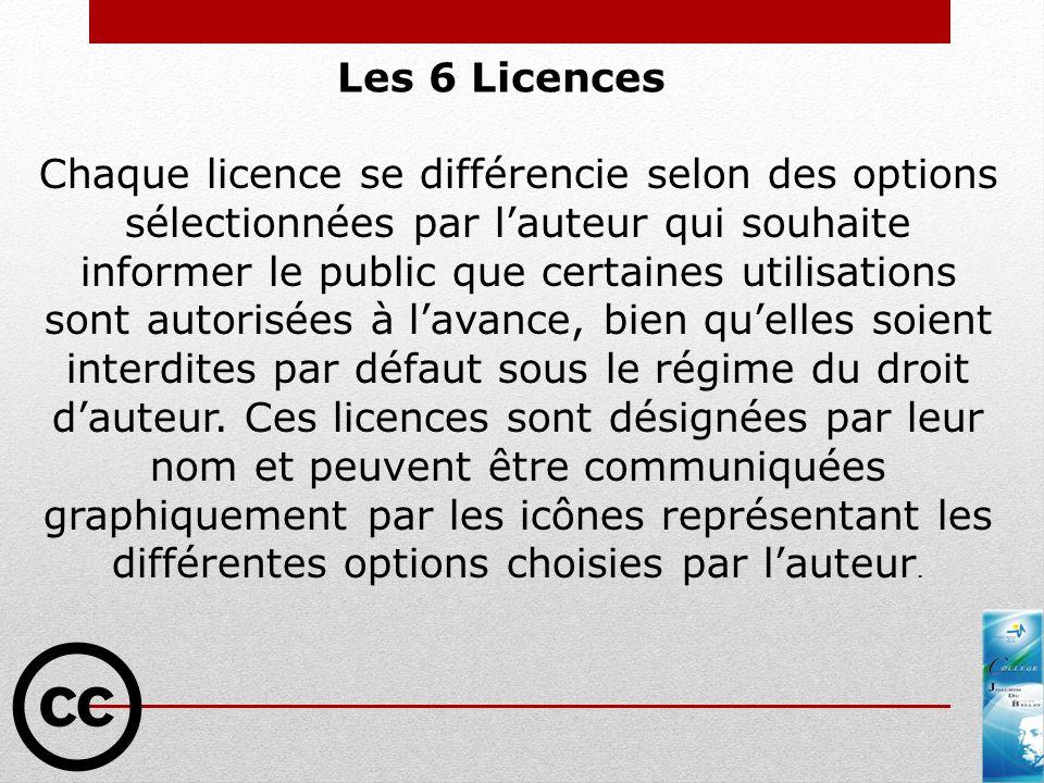 Les 6 Licences