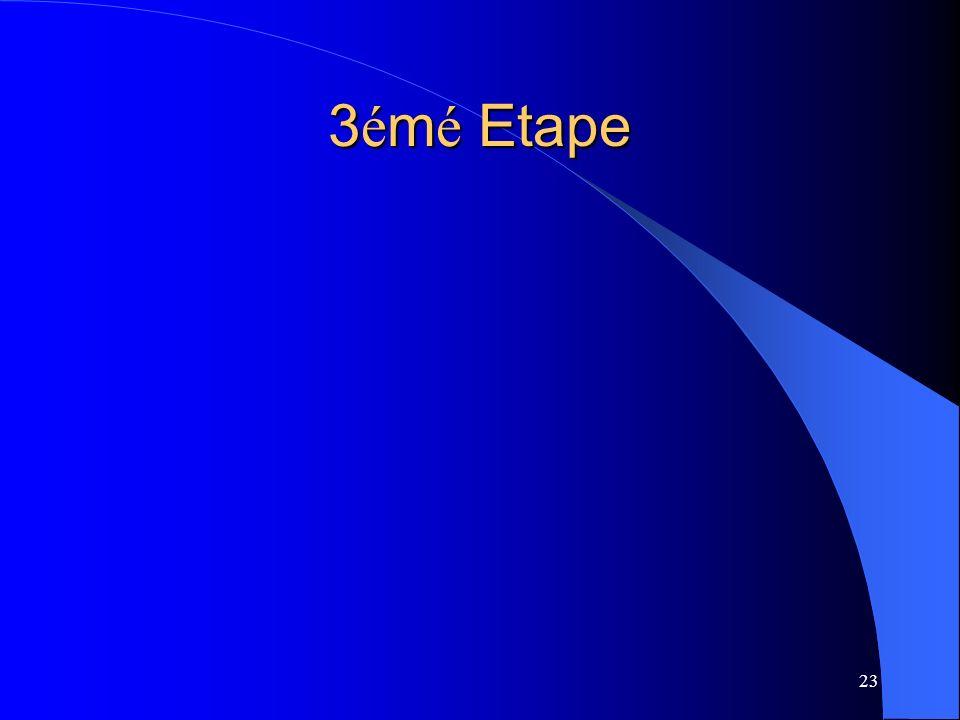 3émé Etape