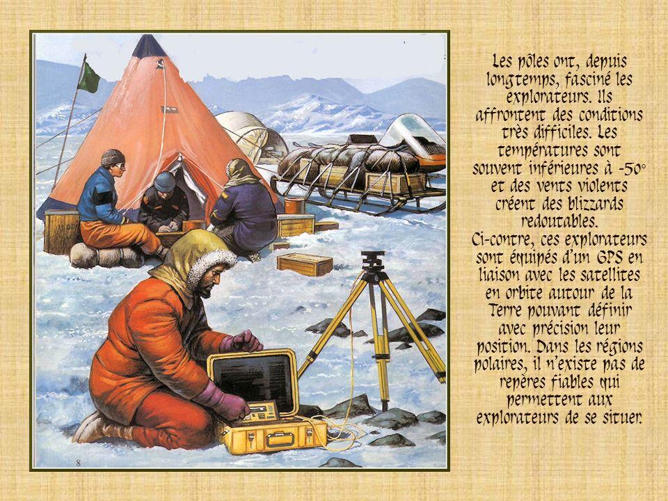 Les pôles ont, depuis longtemps, fasciné les explorateurs