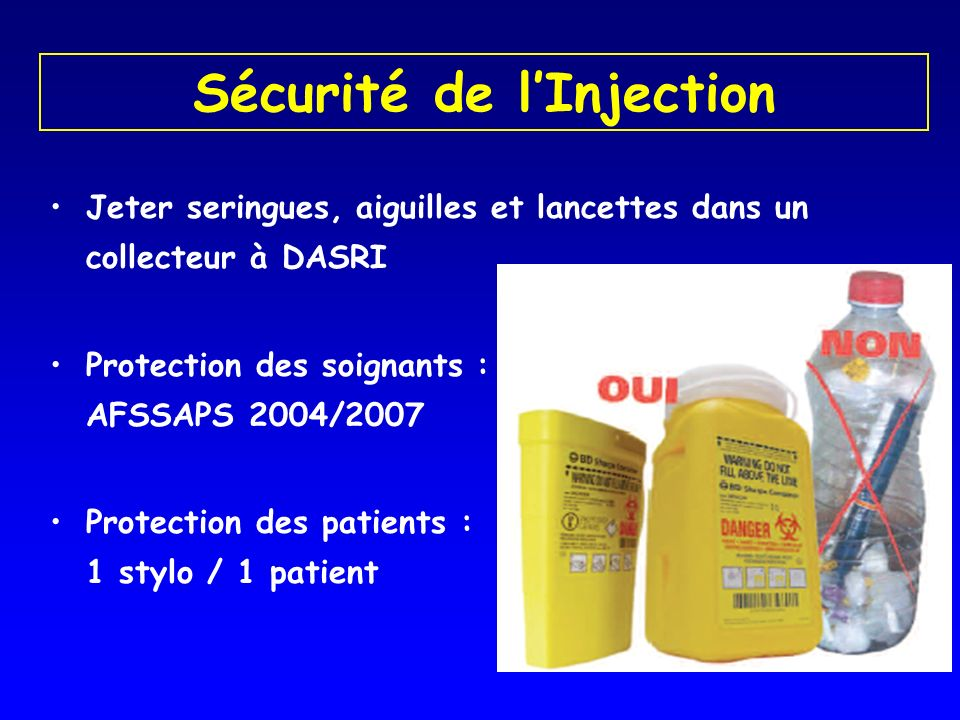 Sécurité de l'Injection