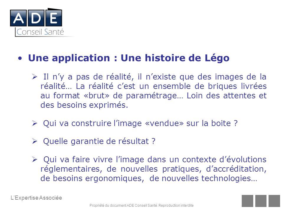 Une application : Une histoire de Légo