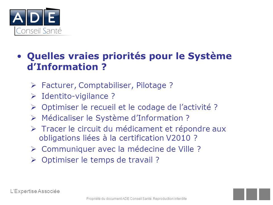 Quelles vraies priorités pour le Système d'Information