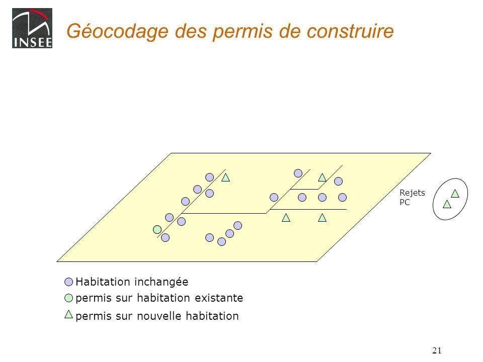 Géocodage des permis de construire