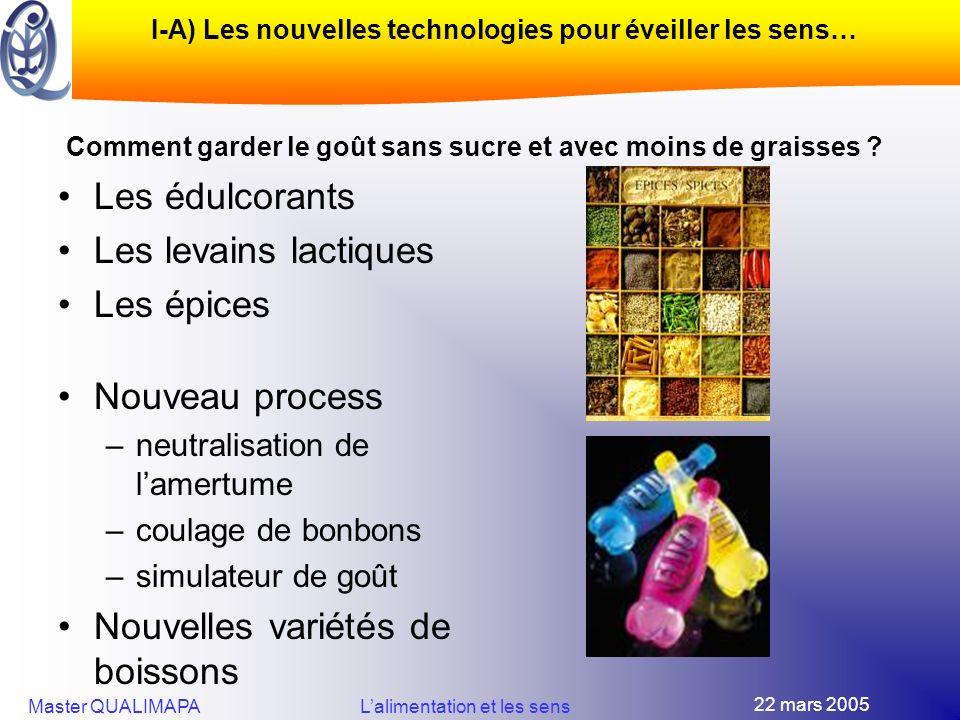 I-A) Les nouvelles technologies pour éveiller les sens…