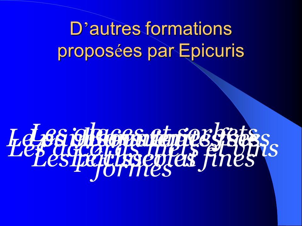 D'autres formations proposées par Epicuris
