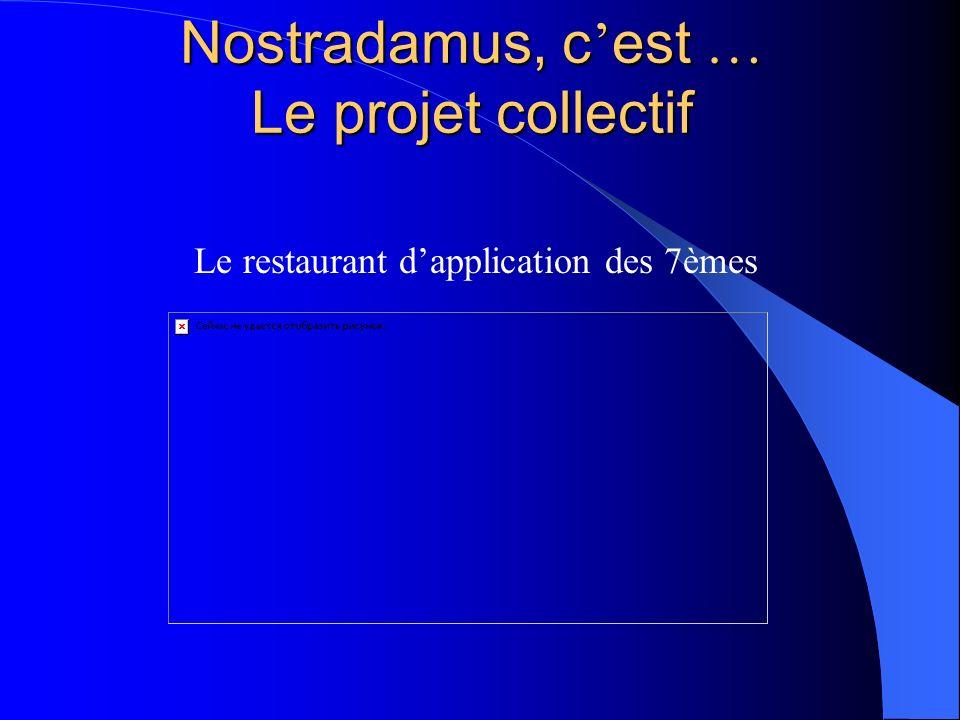 Nostradamus, c'est … Le projet collectif