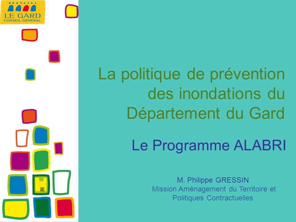 La politique de prévention des inondations du Département du Gard