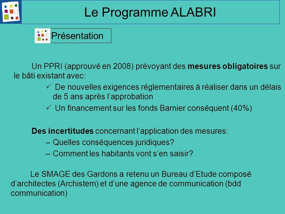 Le Programme ALABRI Présentation