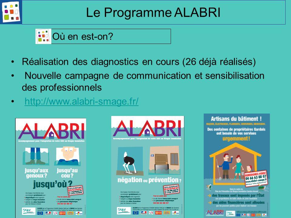 Le Programme ALABRI Où en est-on