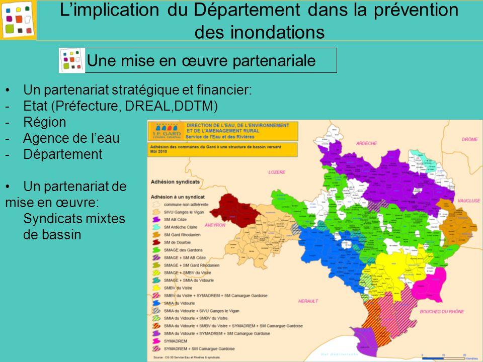 L'implication du Département dans la prévention des inondations