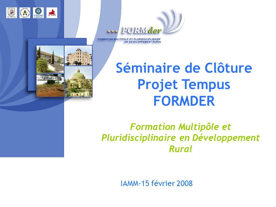Formation Multipôle et Pluridisciplinaire en Développement Rural
