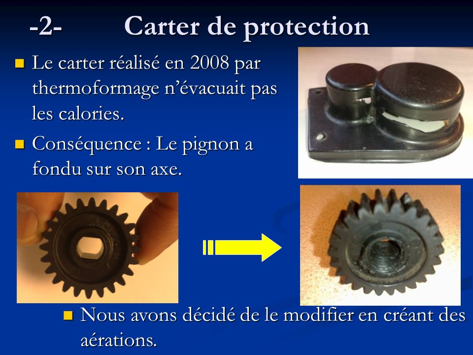 -2- Carter de protection