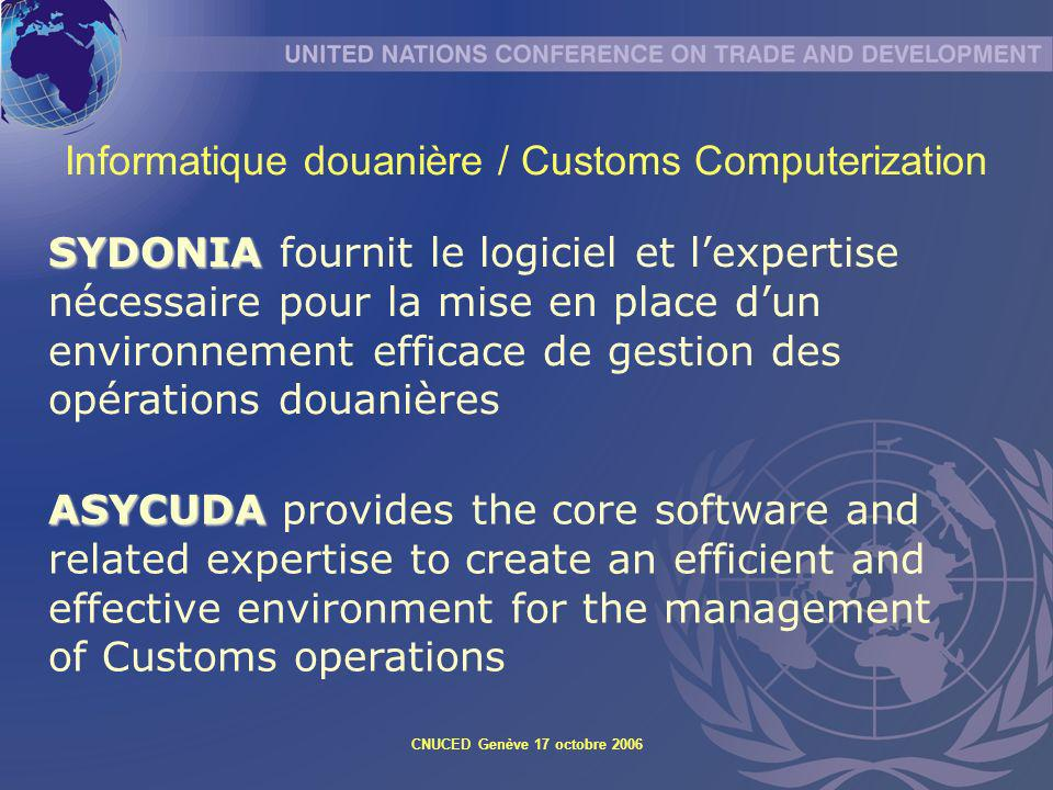 Informatique douanière / Customs Computerization