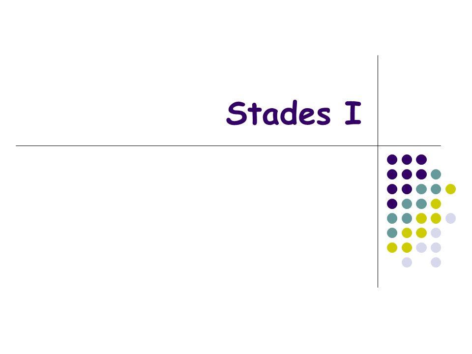 Stades I